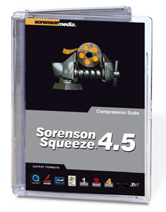 Sorenson Squeeze 4 5 Compression Suite